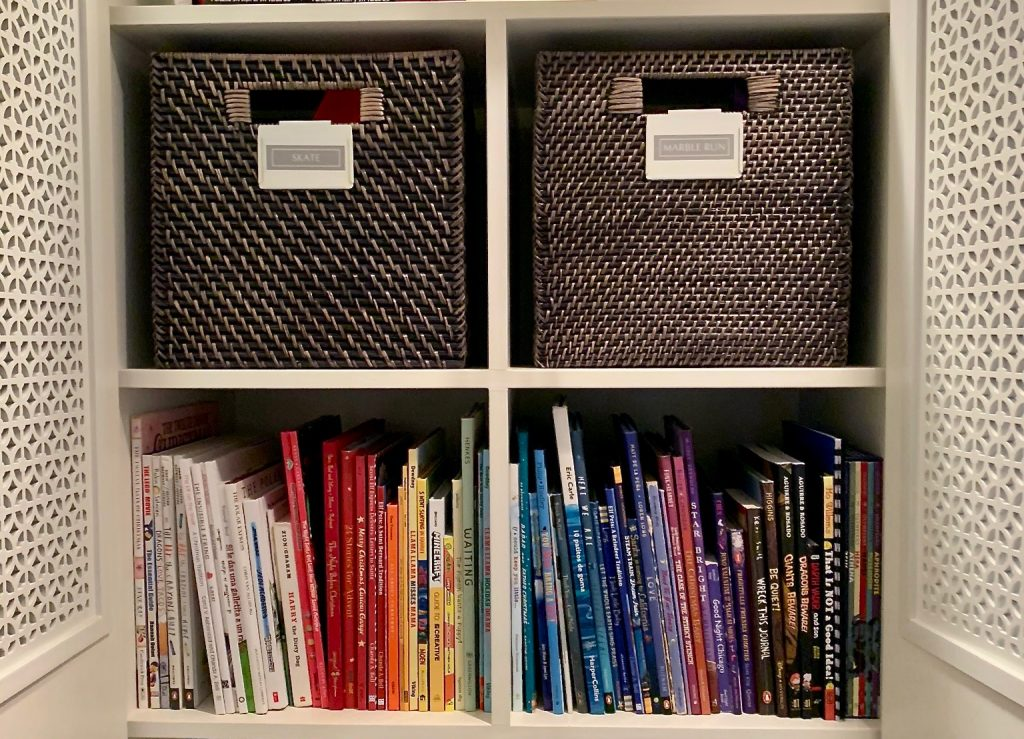 kids bookshelf
