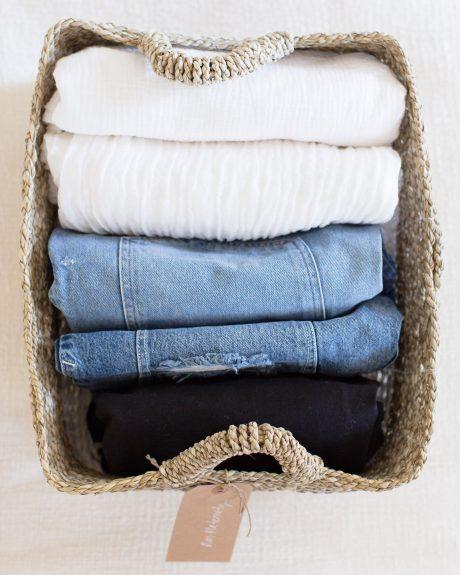 file folded basket