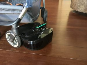Coral One ergonomic robot vacuum does NOT see the baby stroller!