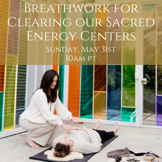 breathwork energy centers